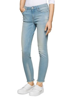 Calvin Klein Jeans Faded Mid-Rise Jeans