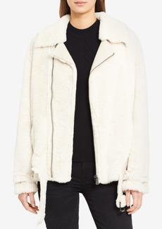 Calvin Klein Jeans Fleece Moto Jacket