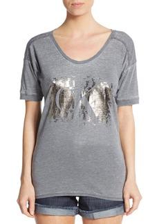 Calvin Klein Jeans Foil Logo Graphic Tee