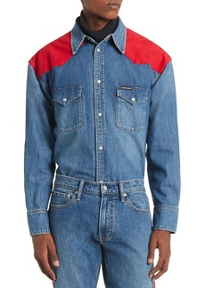 Calvin Klein Jeans Foundation Denim Shirt