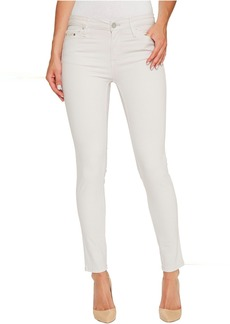 Calvin Klein Jeans Garment Dyed Ankle Skinny Pants in Lilac Marble