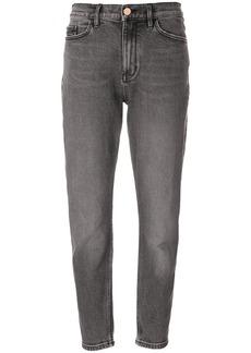 Calvin Klein Jeans high rise boyfriend jeans - Black