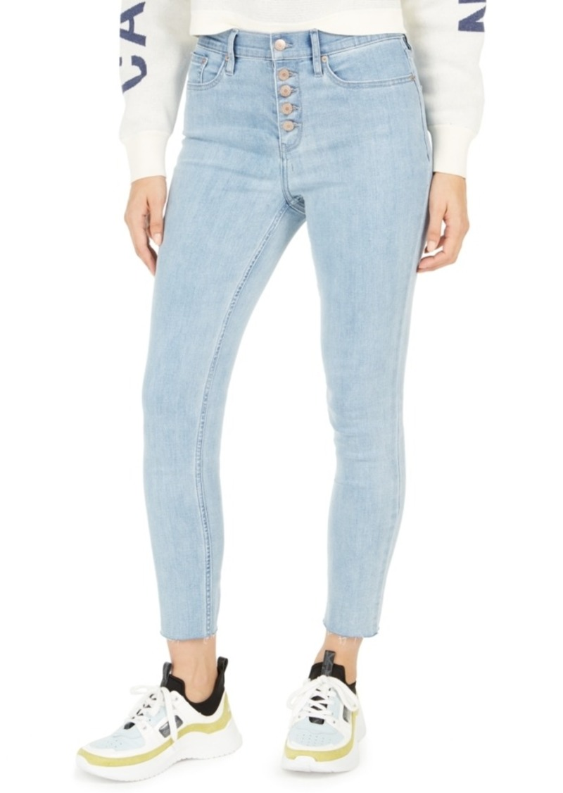 Calvin Klein Jeans High-Rise Button-Fly Skinny Jeans