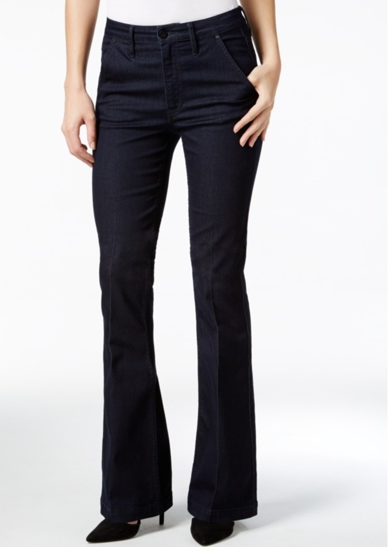 Calvin Klein Jeans High-Waist Flare-Leg Jeans