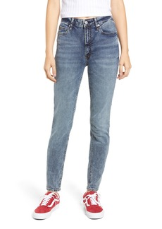 Calvin Klein Jeans High Waist Skinny Jeans (Zoe Blue)