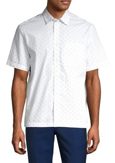 Calvin Klein Jeans Iconic Prairied Short-Sleeve Shirt