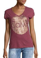 Calvin Klein Jeans Infinite Snake V-Neck Tee