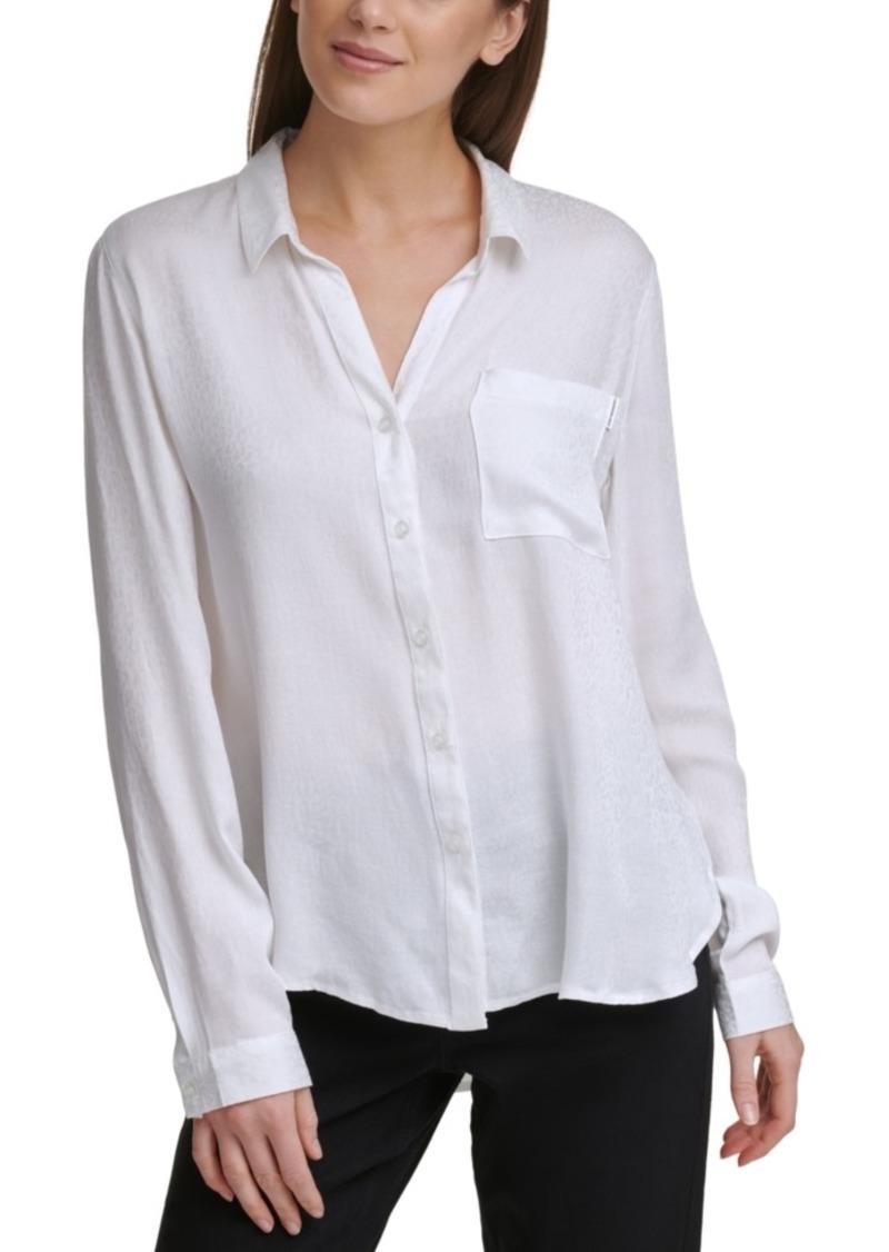 Calvin Klein Jeans Jacquard Shirt