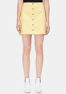 Calvin Klein Jeans Kyrie Cotton Denim Skirt