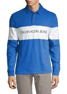 Calvin Klein Jeans Logo Rugby Shirt
