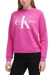 Calvin Klein Jeans Logo Fleece Sweatshirt