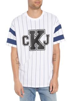 Calvin Klein Jeans Logo Graphic Baseball T-Shirt