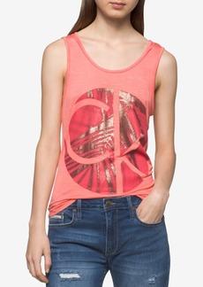 Calvin Klein Jeans Logo Graphic Tank Top