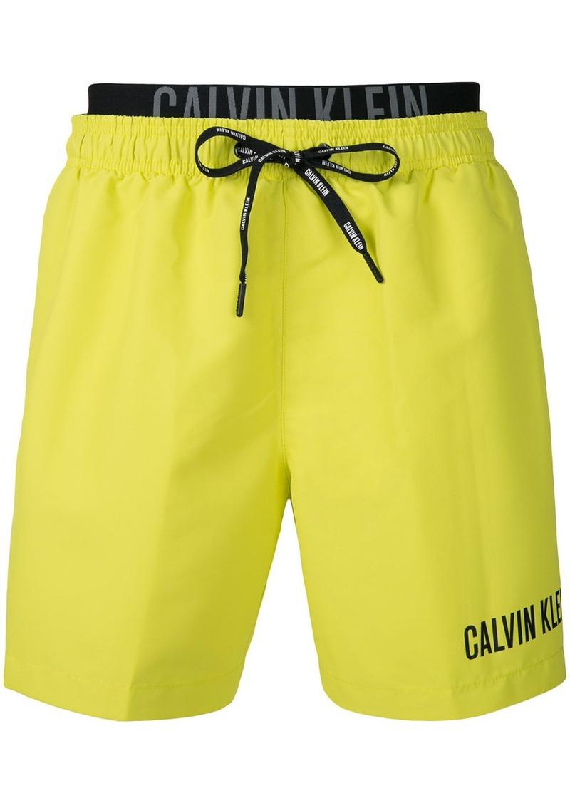 huge discount b09fd cfbcc Jeans logo swim shorts - Yellow & Orange