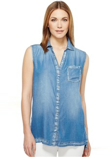 Calvin Klein Jeans Lyocell Sleeveless Top