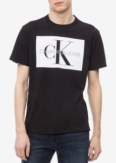 Calvin Klein Jeans Men's Big and Tall Monogram Logo-Print T-Shirt, Created for Macy's