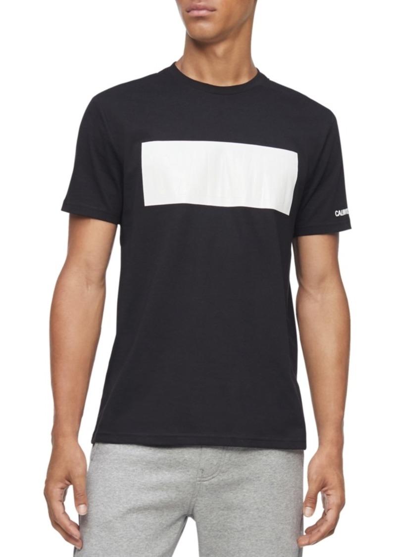 Calvin Klein Jeans Men's Boxed Logo Graphic T-Shirt