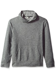 Calvin Klein Jeans Men's Brushed Cozy Crossover Hoodie  2X-Large