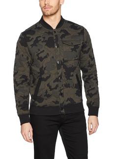 Calvin Klein Jeans Men's Camo Baseball Jacket