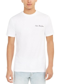 Calvin Klein Jeans Men's Chainstitch Logo T-Shirt