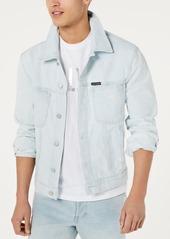 Calvin Klein Jeans Men's Classic Denim Trucker Light Wash Jacket