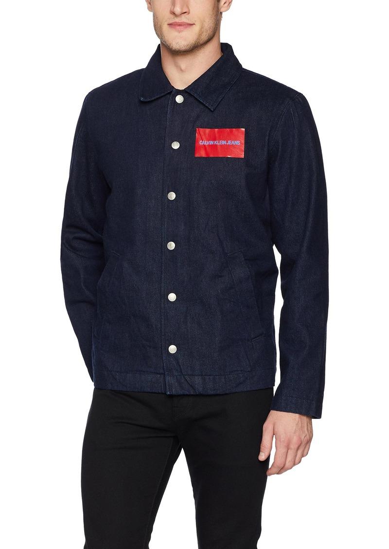 Calvin Klein Jeans Men's Coaches Jacket