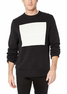 Calvin Klein Jeans Men's Crewneck Logo Sweater  2X-Large