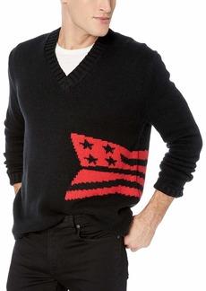 Calvin Klein Jeans Men's Crewneck Logo Sweater EU ck Black