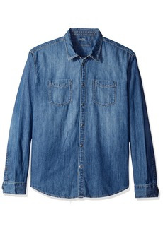 Calvin Klein Jeans Men's Denim Button Down Shirt