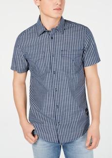Calvin Klein Jeans Men's Double Stripe Grid Shirt