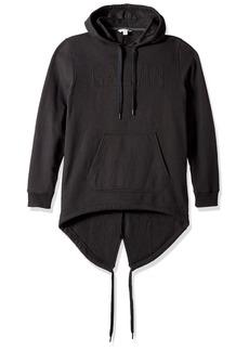 Calvin Klein Jeans Men's Fishtail Parka Hem Pullover Hooded Sweatshirt