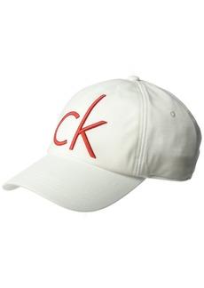Calvin Klein Jeans Men's Fleece Adjustable Hat