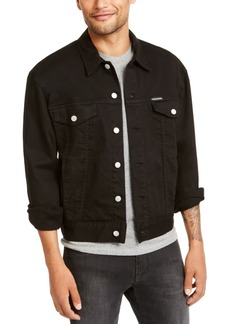 Calvin Klein Jeans Men's Foundation Trucker Jacket