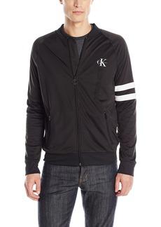 Calvin Klein Jeans Men's Full Zip Retro Track Jacket  X-Large