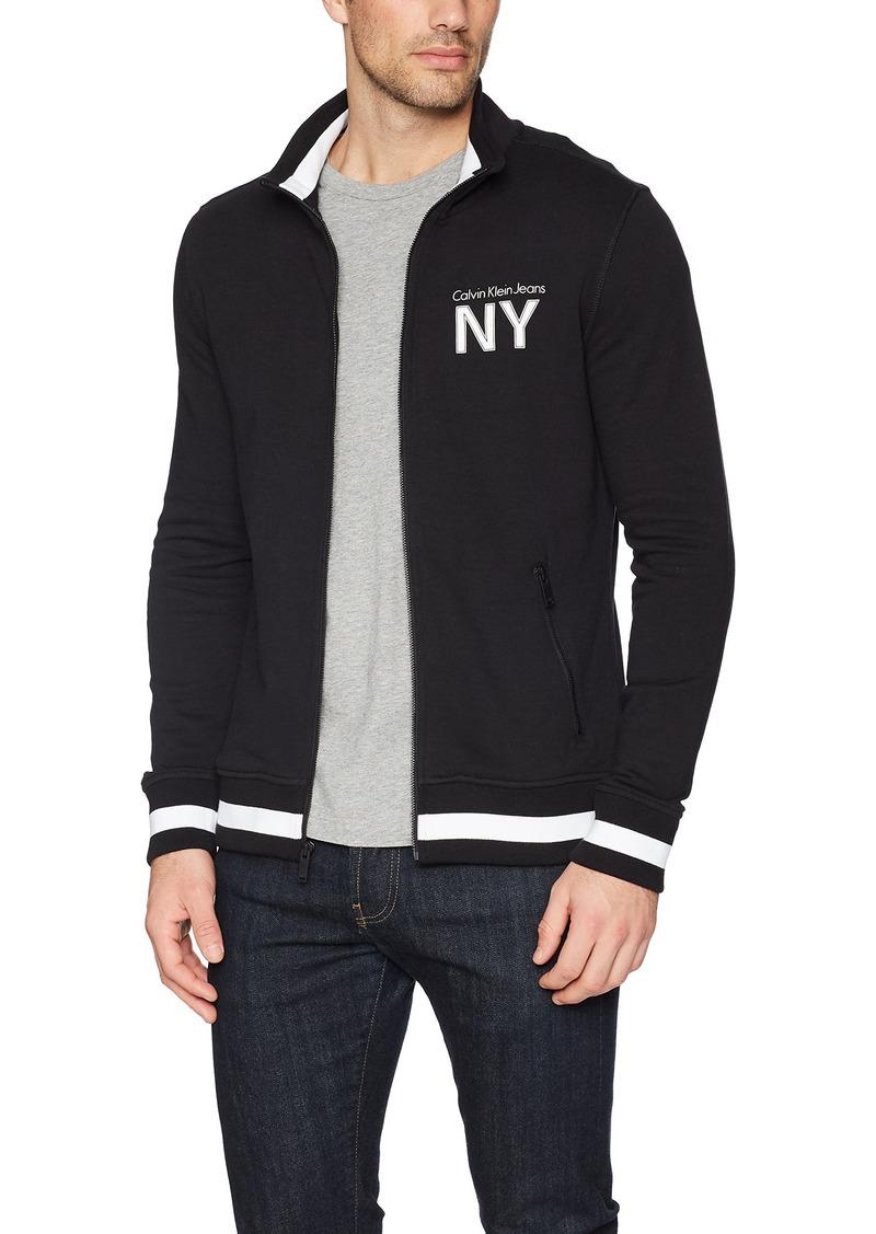 3dd711e8048c Calvin Klein Calvin Klein Jeans Men s Full Zip Track Jacket 2X-Large ...