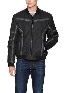Calvin Klein Jeans Men's Gasoline Racer Puffer Jacket