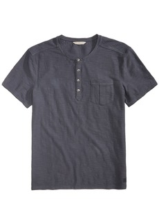 Calvin Klein Jeans Men's Heathered Pocket Henley