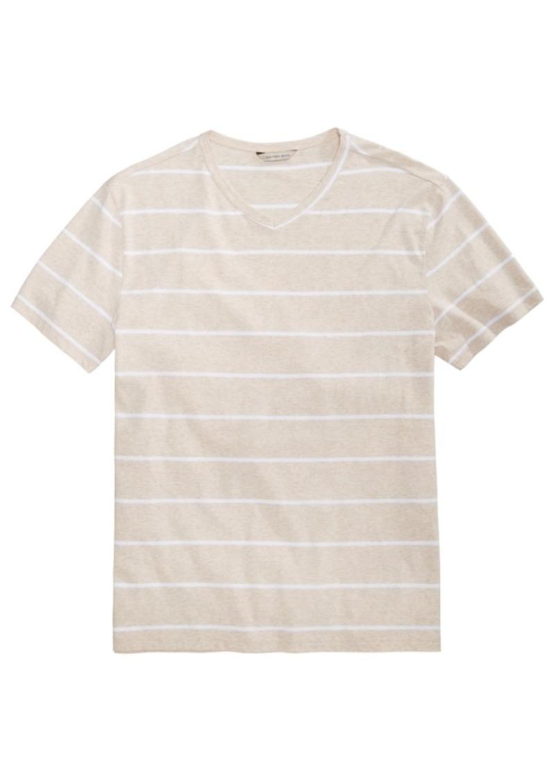 78e5572a4319 SALE! Calvin Klein Calvin Klein Jeans Men's Heathered Striped T-Shirt