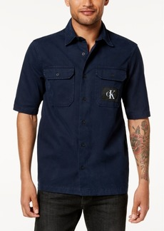 Calvin Klein Jeans Men's Logo Pocket Shirt