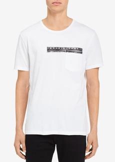 Calvin Klein Jeans Men's Logo-Print Pocket T-Shirt
