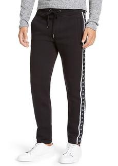 Calvin Klein Jeans Men's Logo-Stripe Fleece Sweatpants