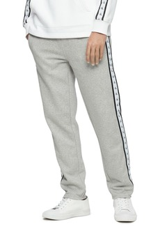 Calvin Klein Jeans Men's Logo-Stripe Fleece Sweatpants