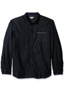 Calvin Klein Jeans Men's Long Sleeve Selvedge Denim Shirt