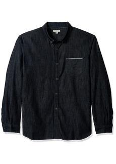 Calvin Klein Jeans Men's Long Sleeve Selvedge Denim Shirt