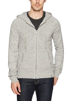 Calvin Klein Jeans Men's Long Sleeve Waffle Texture Full Zip Hoodie Sweater  2X-Large