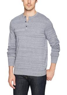Calvin Klein Jeans Men's Long Sleeve Waffle Texture Henley