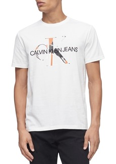 Calvin Klein Jeans Men's Monogram Andy Warhol Shadow Logo Graphic T-Shirt