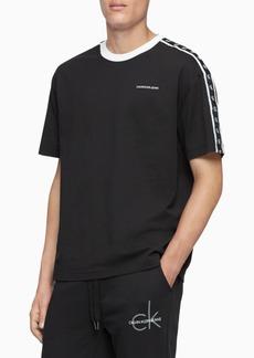 Calvin Klein Jeans Men's Monogram Tape Logo T-Shirt