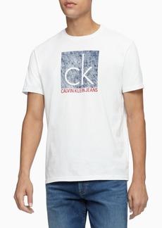 Calvin Klein Jeans Men's Quilted Institutional Logo T-Shirt
