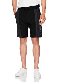 Calvin Klein Jeans Men's Rebel Sports Mixed Nylon Shorts
